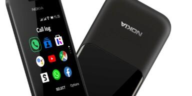 Bei smarten Feature Phone hat KaiOS bisher die Nase vorn. (Foto: HMD / Nokia)