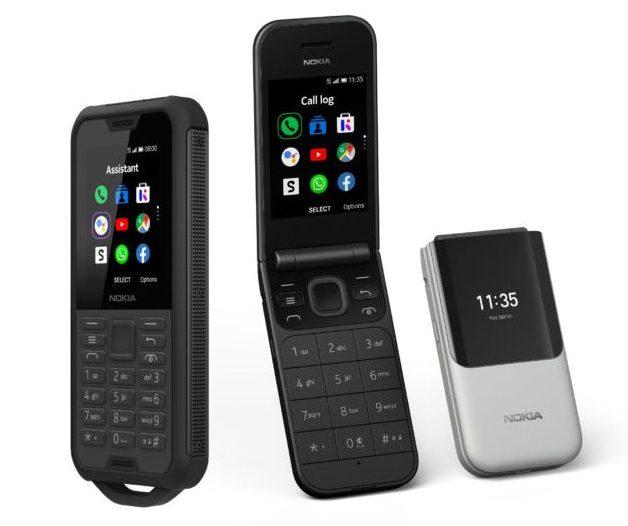 Nokia / HMD ist beispielsweise bemüht, weitere Smart Feature Phones mit KaiOS zu veröffentlichen. (Foto: HMD / Nokia)