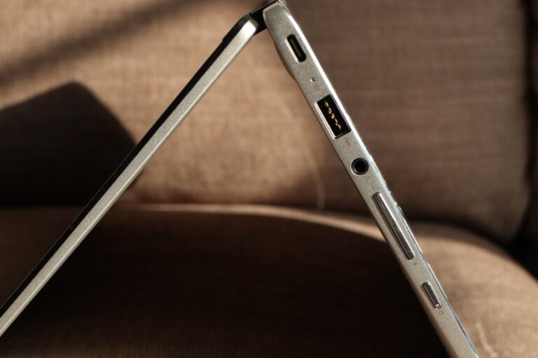 Asus Chromebook C434 im Tent-Modus