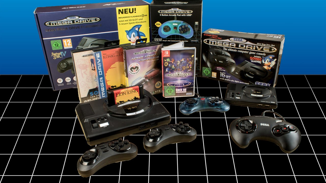 Segas Retro-Sammlungen im Test: Nostalgie in Perfektion