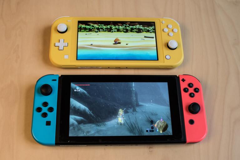 Die Nintendo Switch (Lite) setzt auf FreeBSD als Betriebssystem.