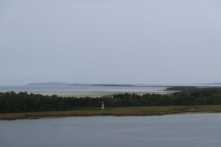 Mieses Wetter und Blick auf Hiddensee. (Foto: Sven Wernicke)