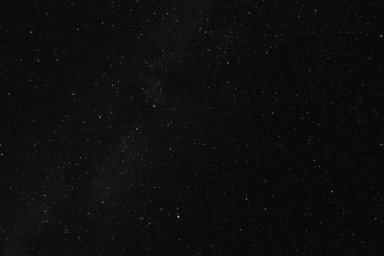 Sternenhimmel. Das war schon spaßig, dieses an sich nicht spektakuläre Bild zu fotografieren. (Foto: Sven Wernicke)