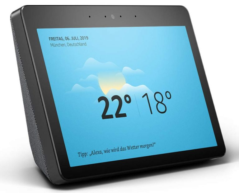 Der Amazon Echo ist ein populäres Beispiel für ein Smart Display. (Foto: Amazon)