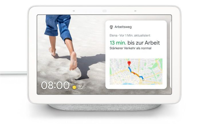 Der Nest Hub ist Googles Smart-Home-Schaltzentrale. (Foto: Google)