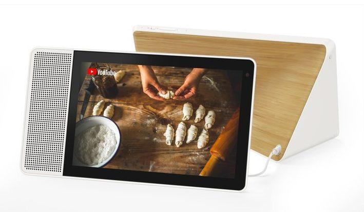 Praktisch und schick - das Lenovo Smart Display. (Foto: Lenovo)