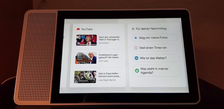 Youtube in der Küche - sehr nett. (Foto: Sven Wernicke)
