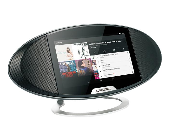 Eher ein Internetradio, aber auch ein Smart Display. (Foto: Orbsmart)