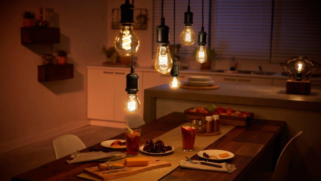 Smarte Filament-Lampen: 10 LEDs mit dem gewissen Etwas