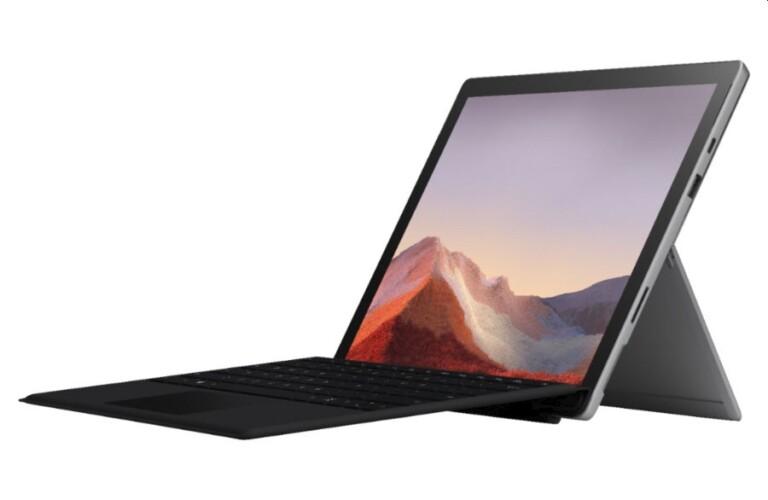 Viel hat sich beim Surface Pro 7 leider nicht getan. (Foto: Microsoft)