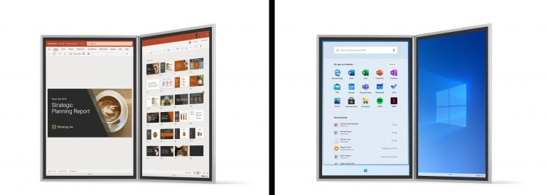 Windows 10X sieht etwas anders aus. (Foto: Microsoft)