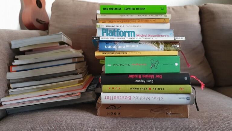 Meine letzten papiernen Bücher