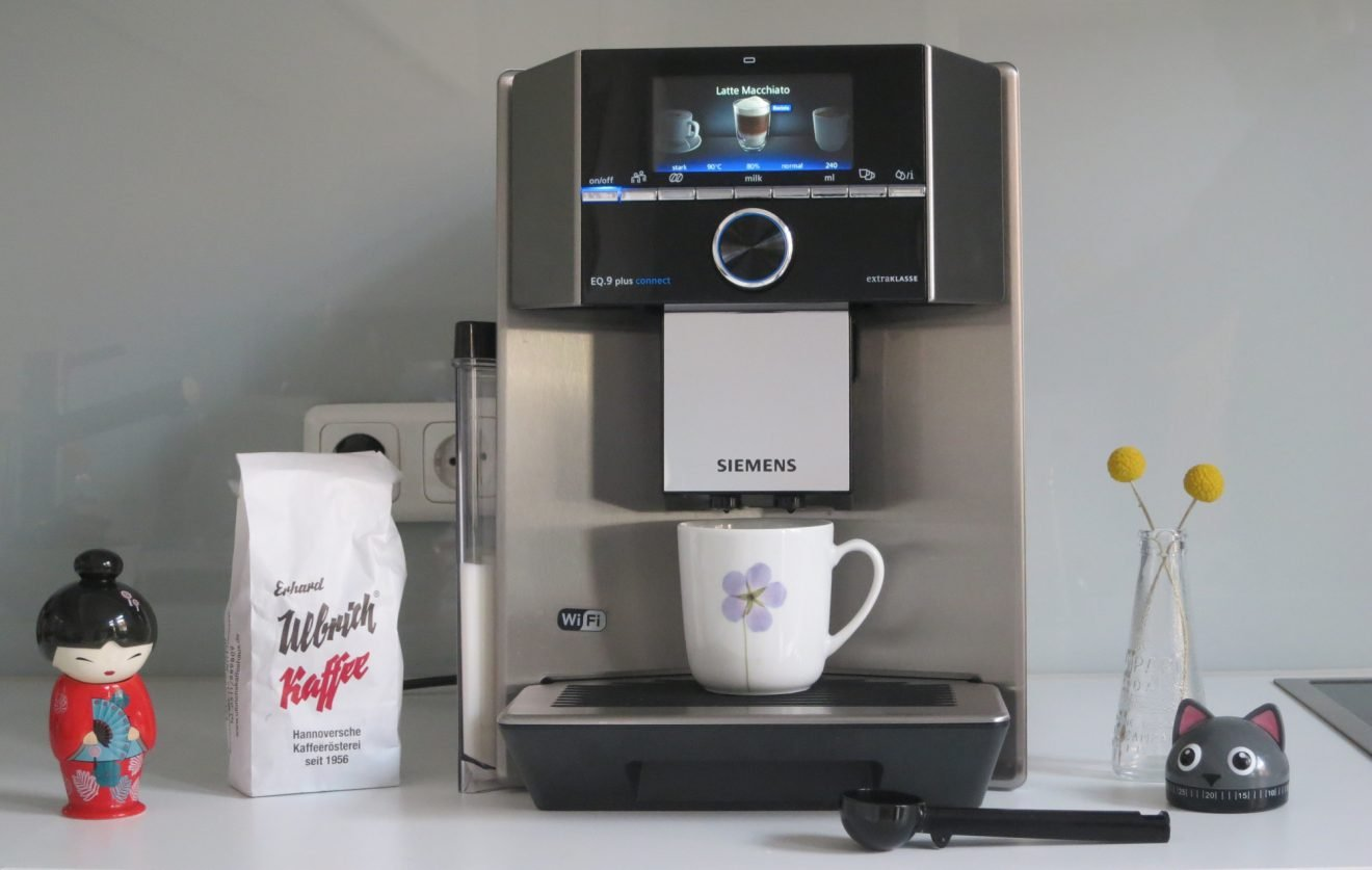 Kaffeevollautomat Siemens EQ.9 plus connect