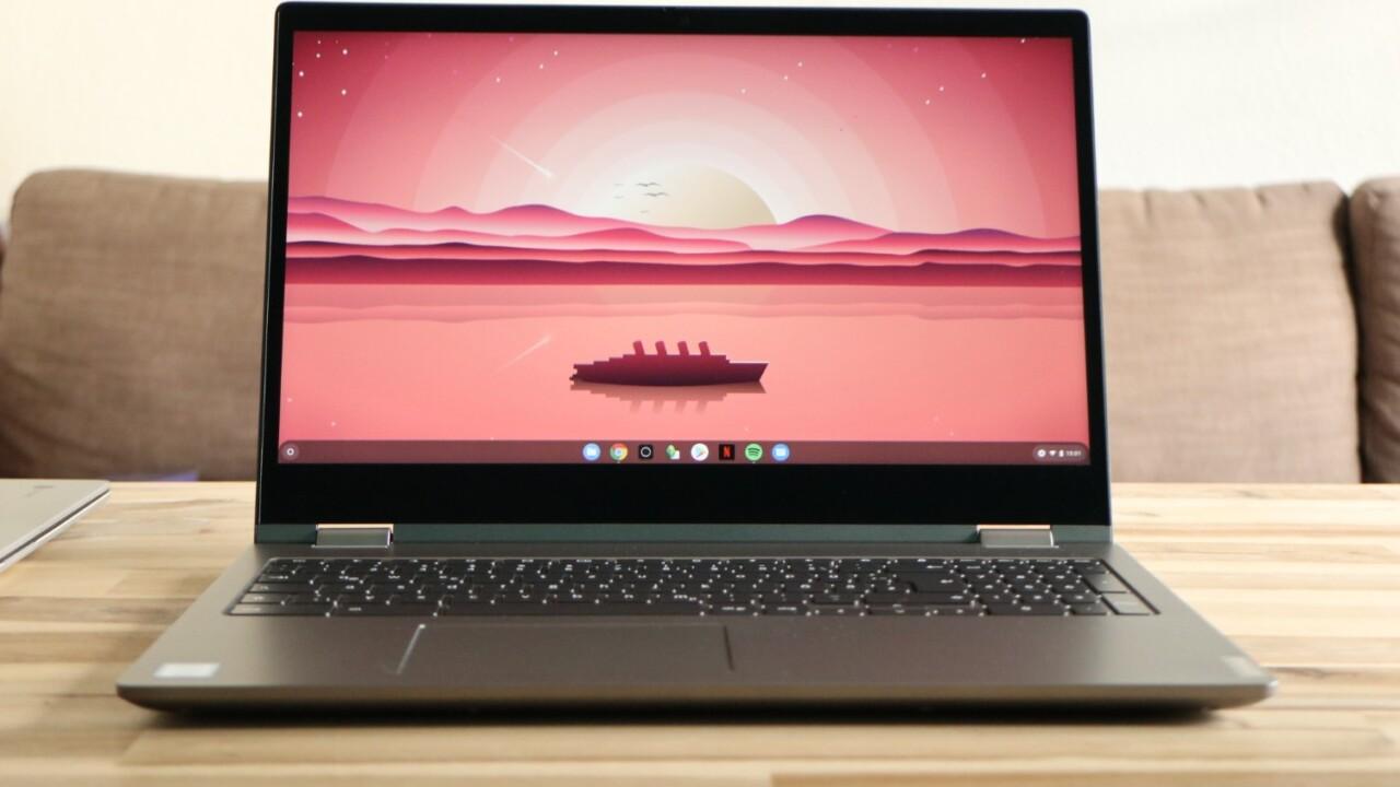 Lenovo Chromebook C340-15 im Hands-on: Groß!