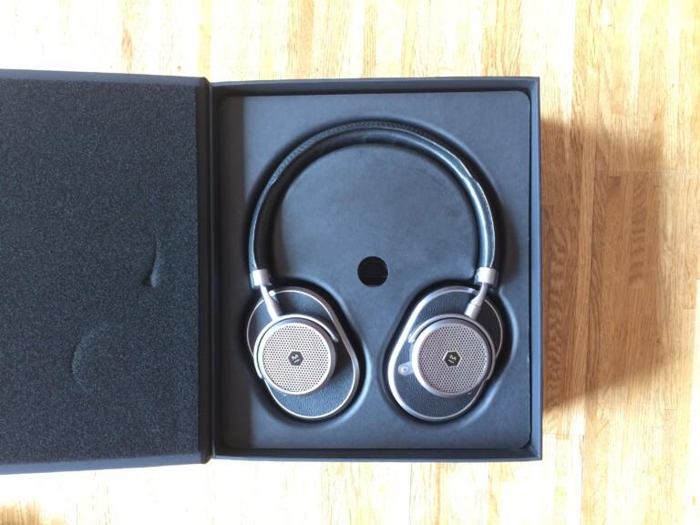 Retro-Kopfhörer, gut verpackt