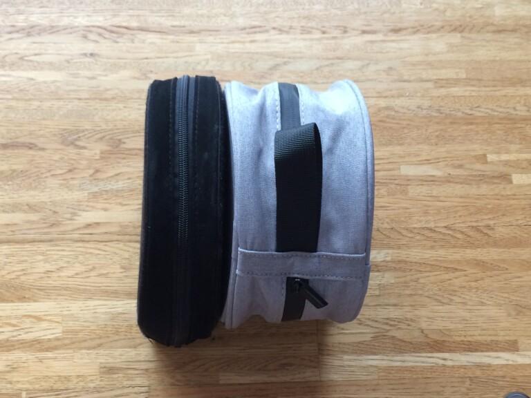 Transporttasche des Sennheiser Momentum Wireless 3
