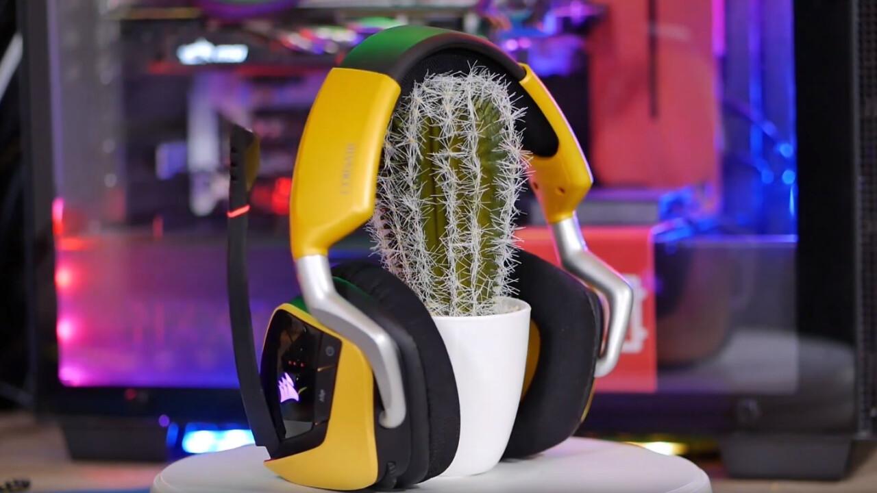 Corsair Void Pro Gaming Headset: Starker Sound aus eckigen Ohrmuscheln