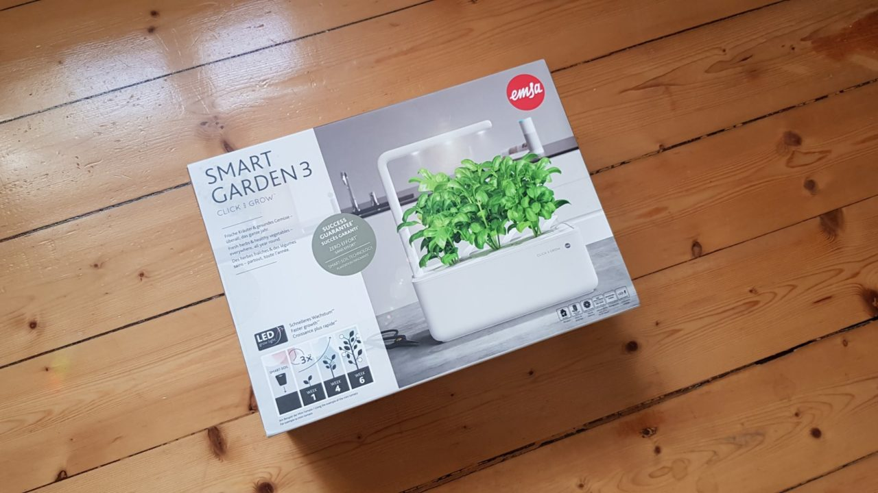 Emsa Smart Garden Click & Grow ausprobiert: Kleiner Indoor-Garten im Ersteindruck