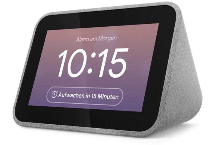 Die Lenovo Smart Clock ist ein kleiner, praktischer Wecker. (Foto: Lenovo)