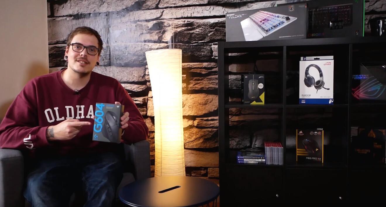 Logitech G604 Lightspeed: Lichtgeschwindigkeit oder lieber Batterie sparen?