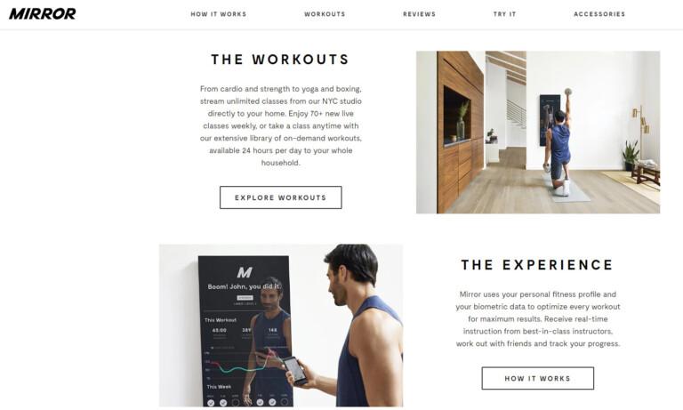 mirror-webseite