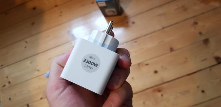 Maximal 2300 Watt verkraftet die Steckdose. (Foto: Sven Wernicke)