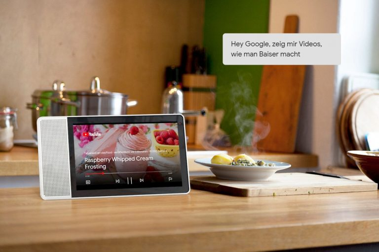 Im Grunde gibt es fast nur Android Things oder das Amazon-System als Plattformen für Smart Displays. (Foto: Lenovo)