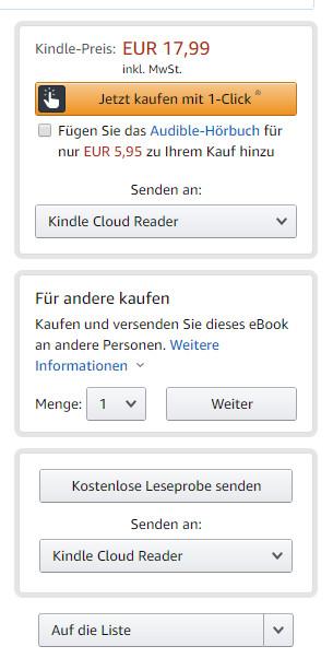 Amazon-Geschenkoption