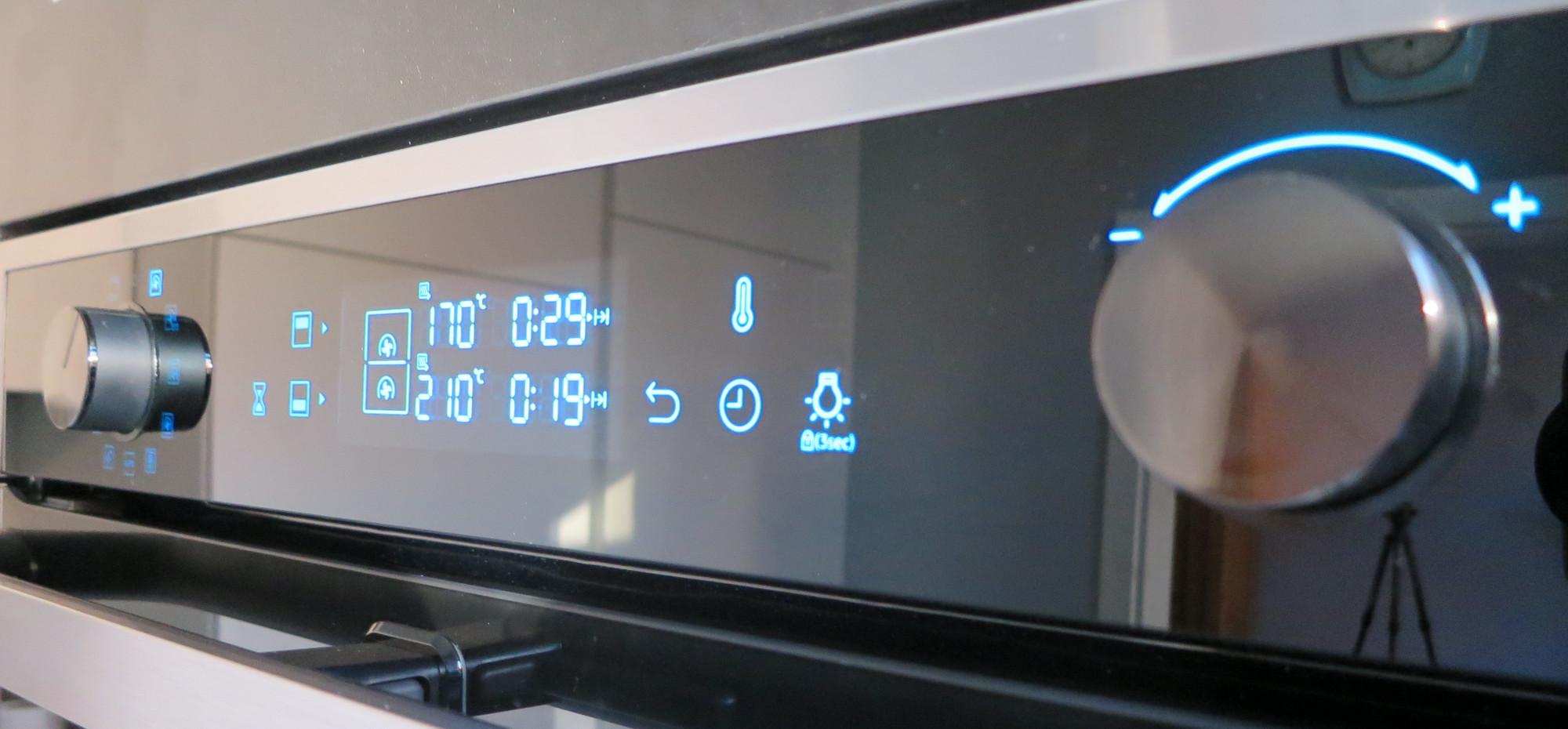 Backofen Samsung Dual Cook Flex Bedienung