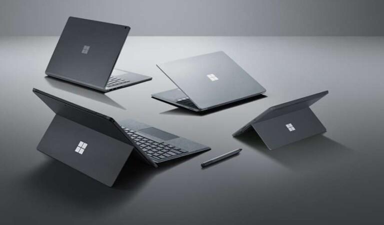 Microsoft Surface-Reihe: Einige der innovativsten Hybrid-Geräte der 2010er-Jahre