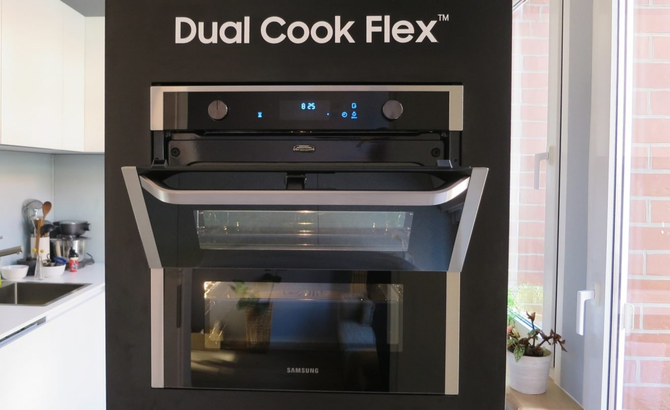 2-in-1-Backofen Samsung Dual Cook Flex