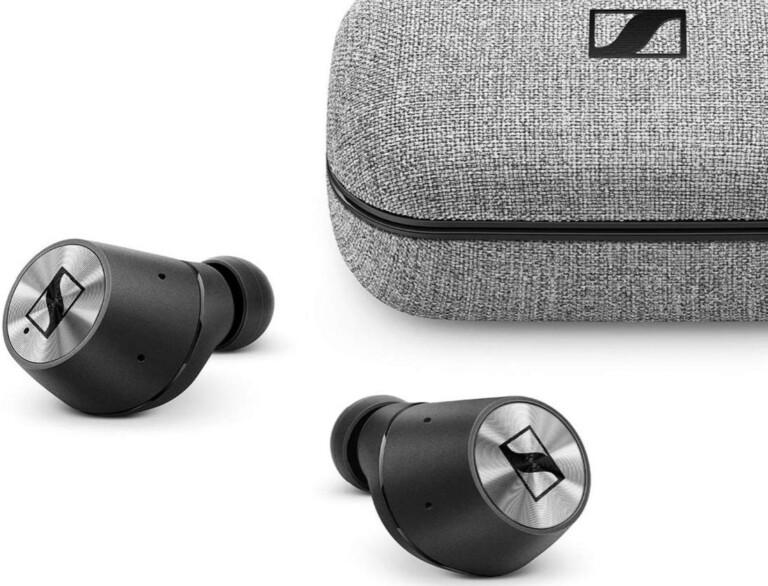 """Kabellose """"True Wireless""""-Kopfhörer wie hier die Sennheiser Momentum machen endlich Schluss mit dem Kabelsalat."""
