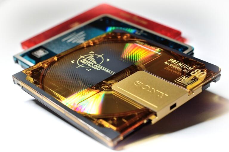 Sony MiniDisc: Gab es noch bis 2013 zu kaufen. Bild: Frantisek Krejci