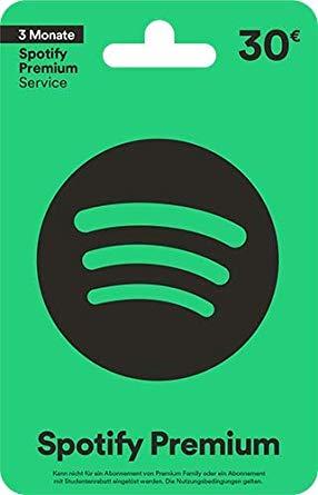 Spotify-Geschenkkarte