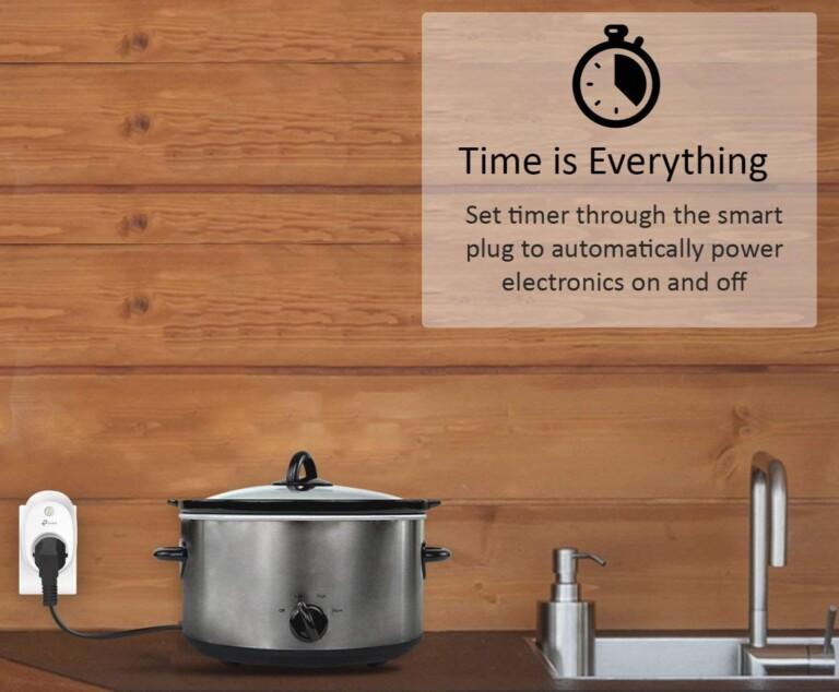 Smarte Steckdosen sind nicht nur praktisch, sondern helfen auch, Kosten zu sparen. Grafik: TP-Link