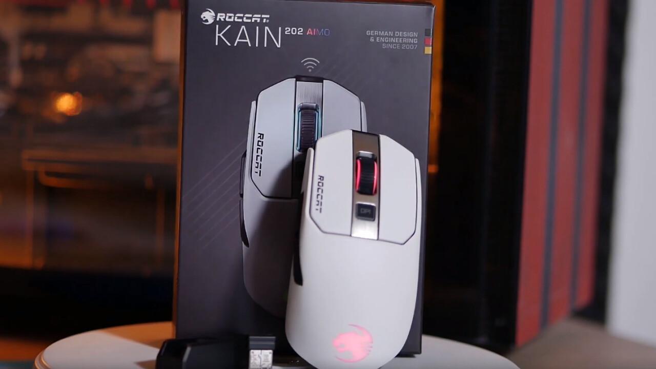 Roccat Kain 202 Aimo: Weiße Maus zur weißen Weihnacht