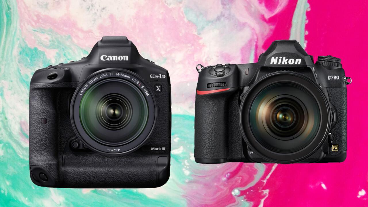 Canon und Nikon auf der CES 2020: Spiegelreflexkameras für Profis