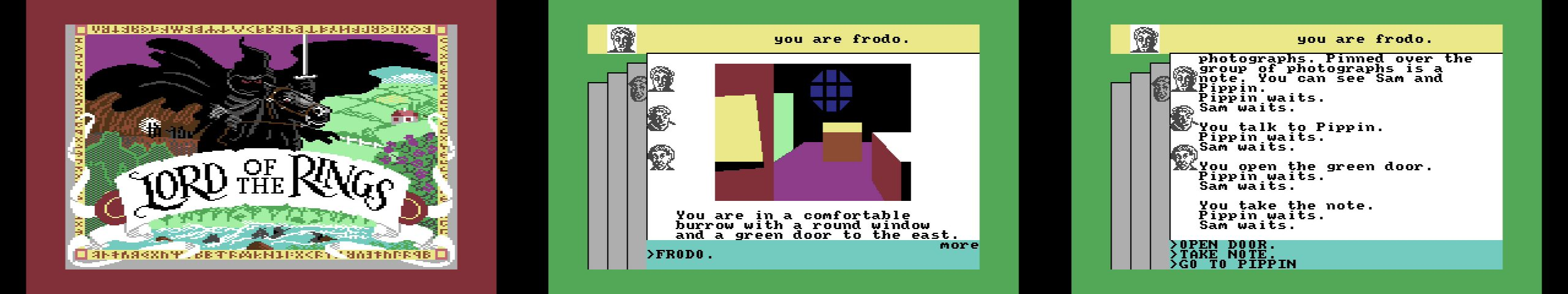 The C64 Maxi Lord of the Rings