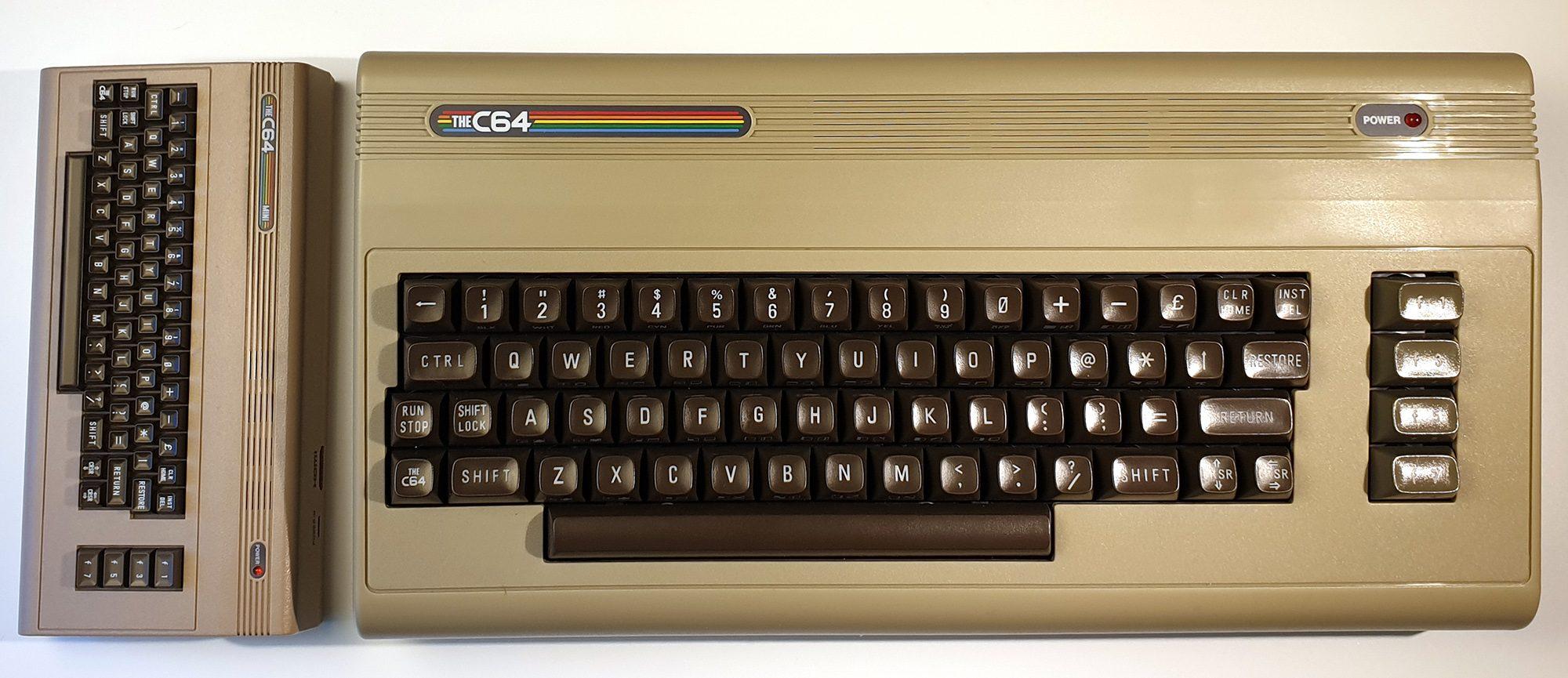 The C64 im Test - Größenvergleich