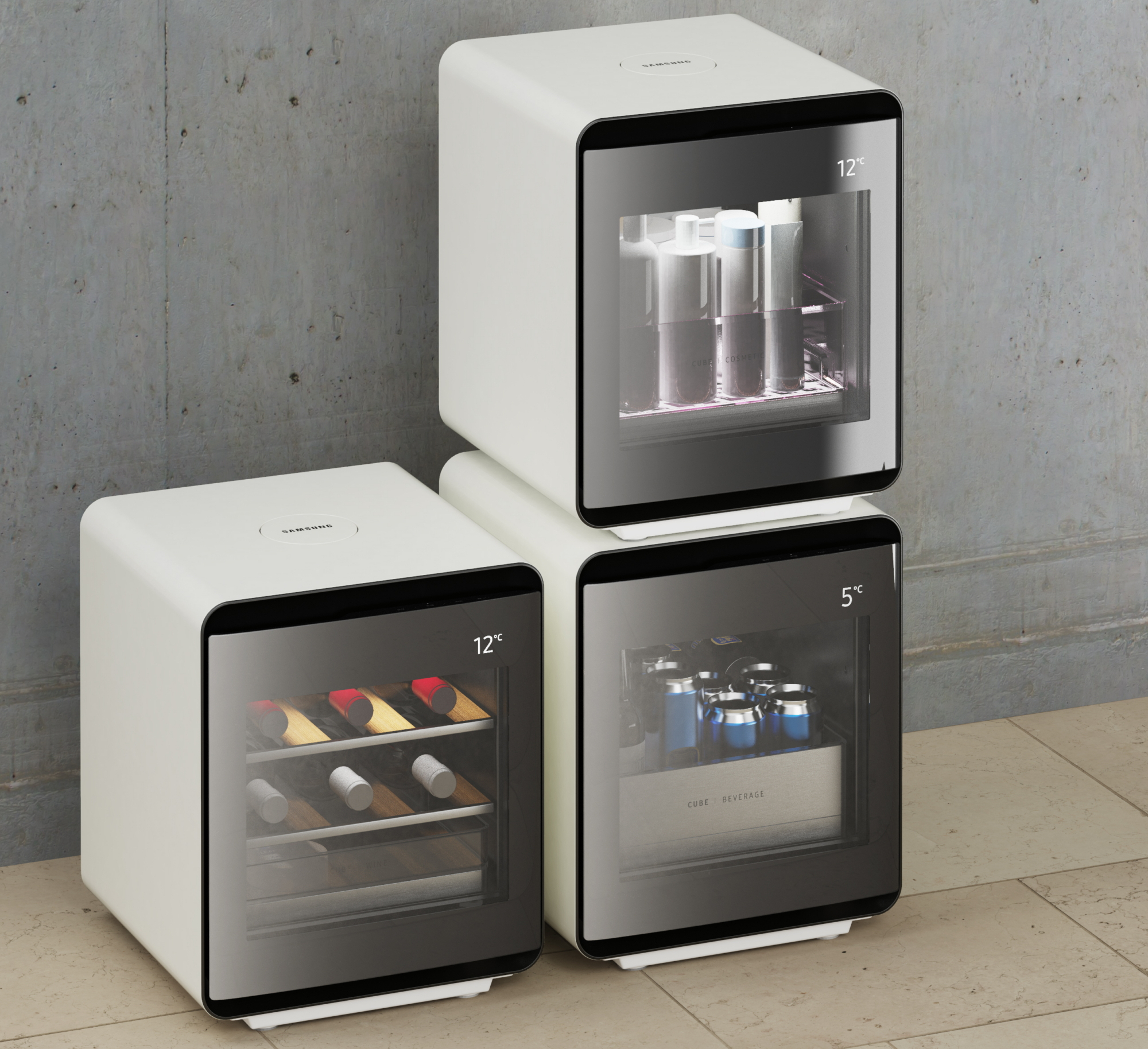 Samsung Cube Refrigerator Series