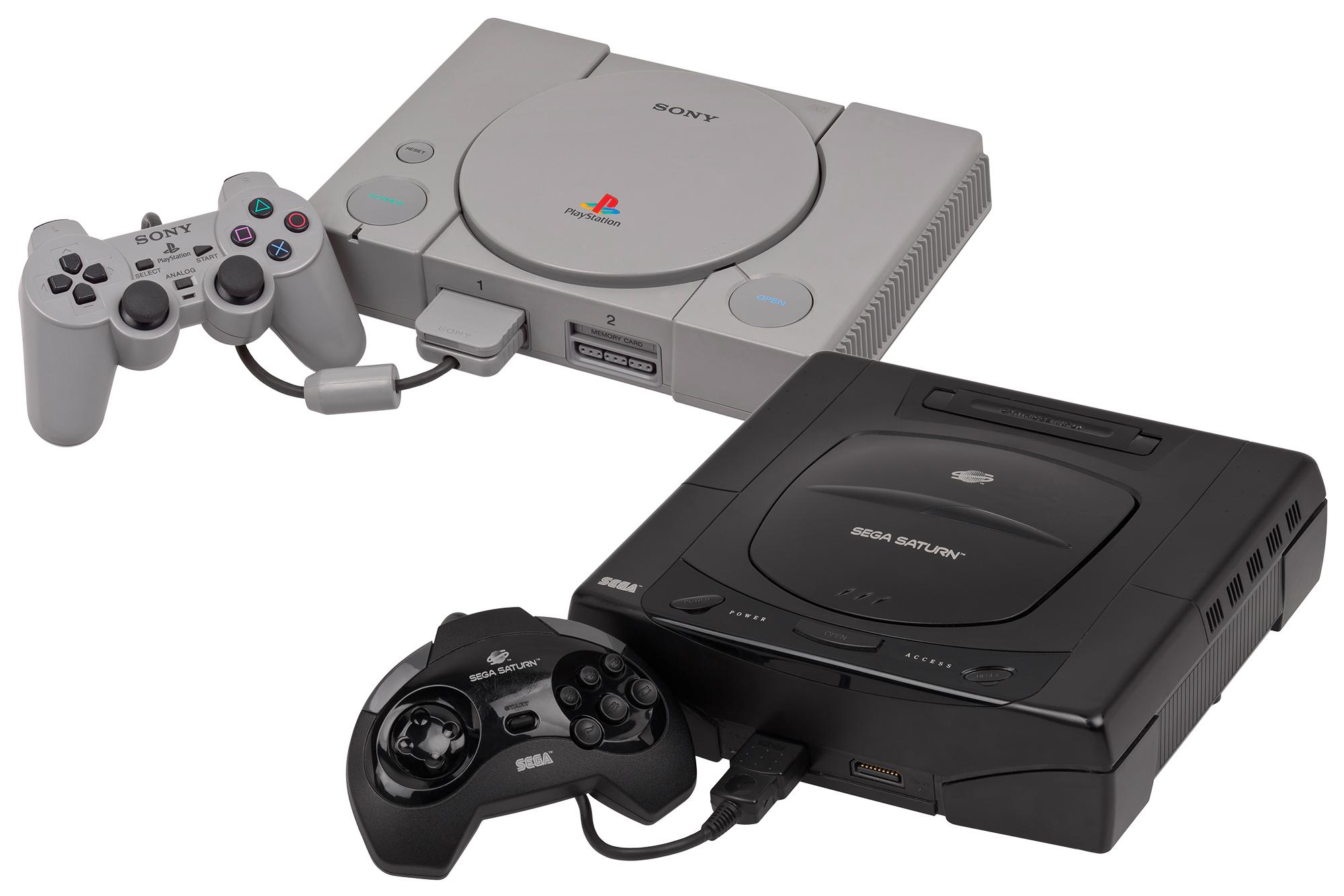 Sony PlayStation Sega Saturn