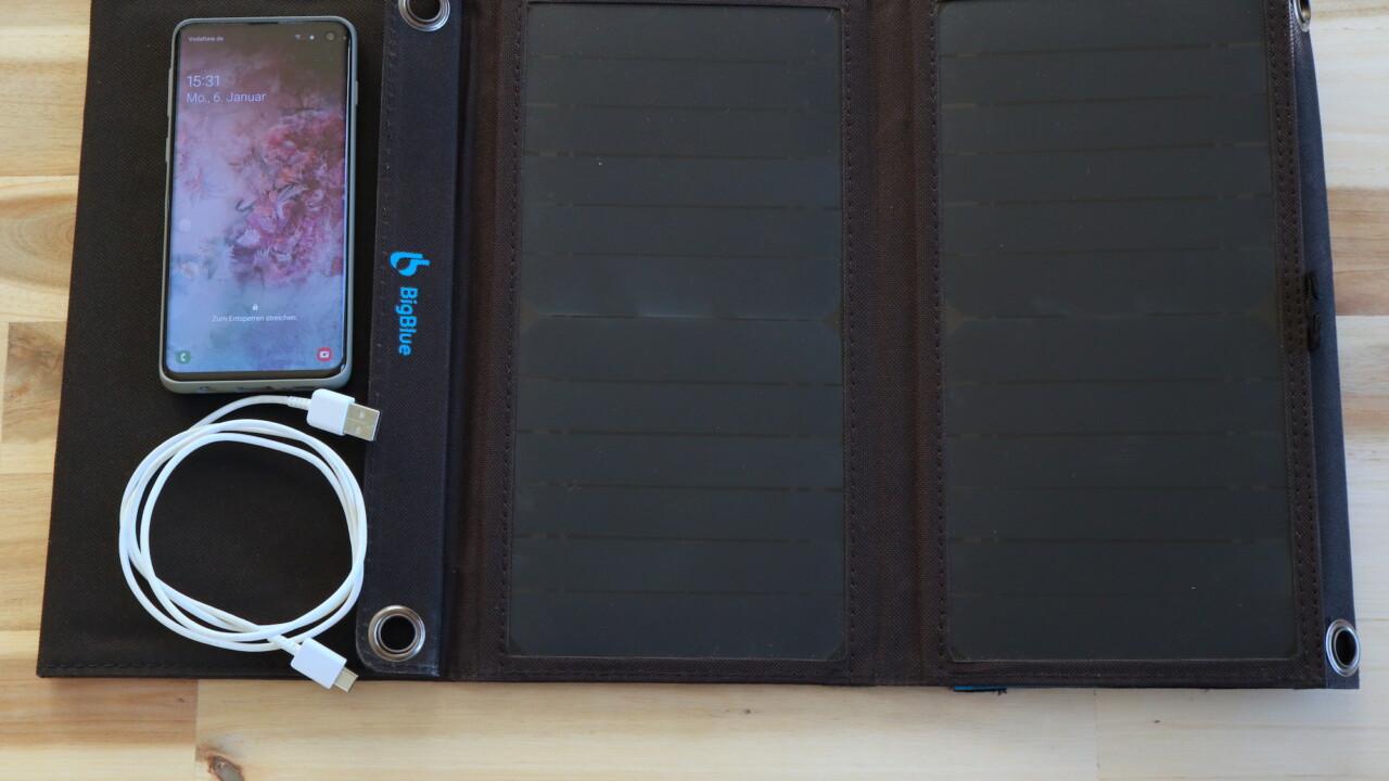 Solar Challenge: Wie lange könnt ihr ein Smartphone nur mit Solarenergie laden?