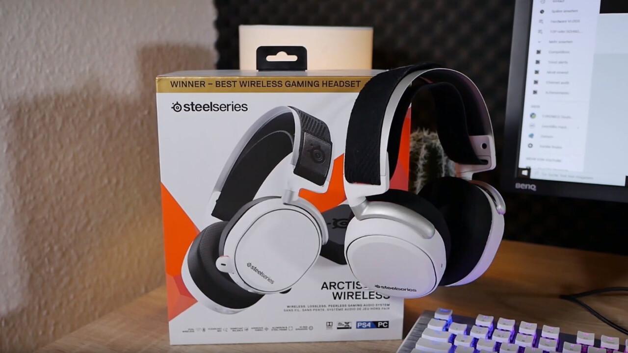 Steelseries Arctis Pro Wireless: Premium-Headset zum Premium-Preis