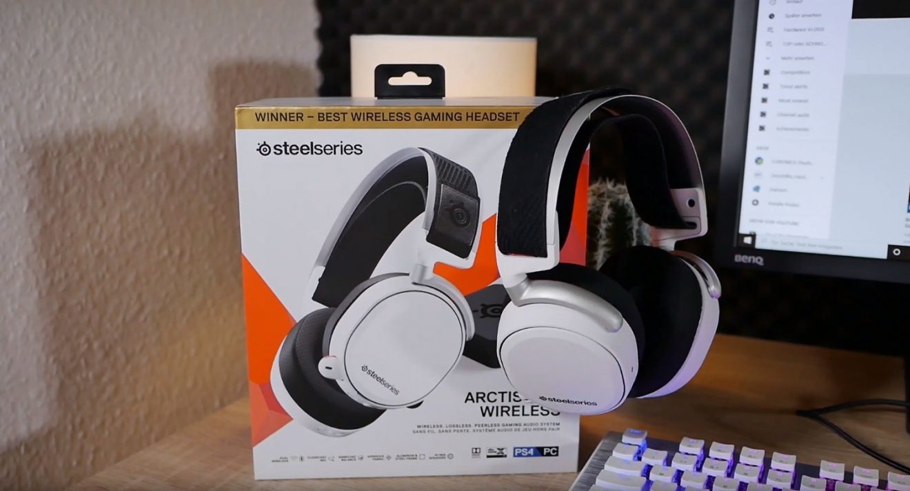 Steelseries Arctis Pro Wireless: Premium-Headset zum Premium-Preis