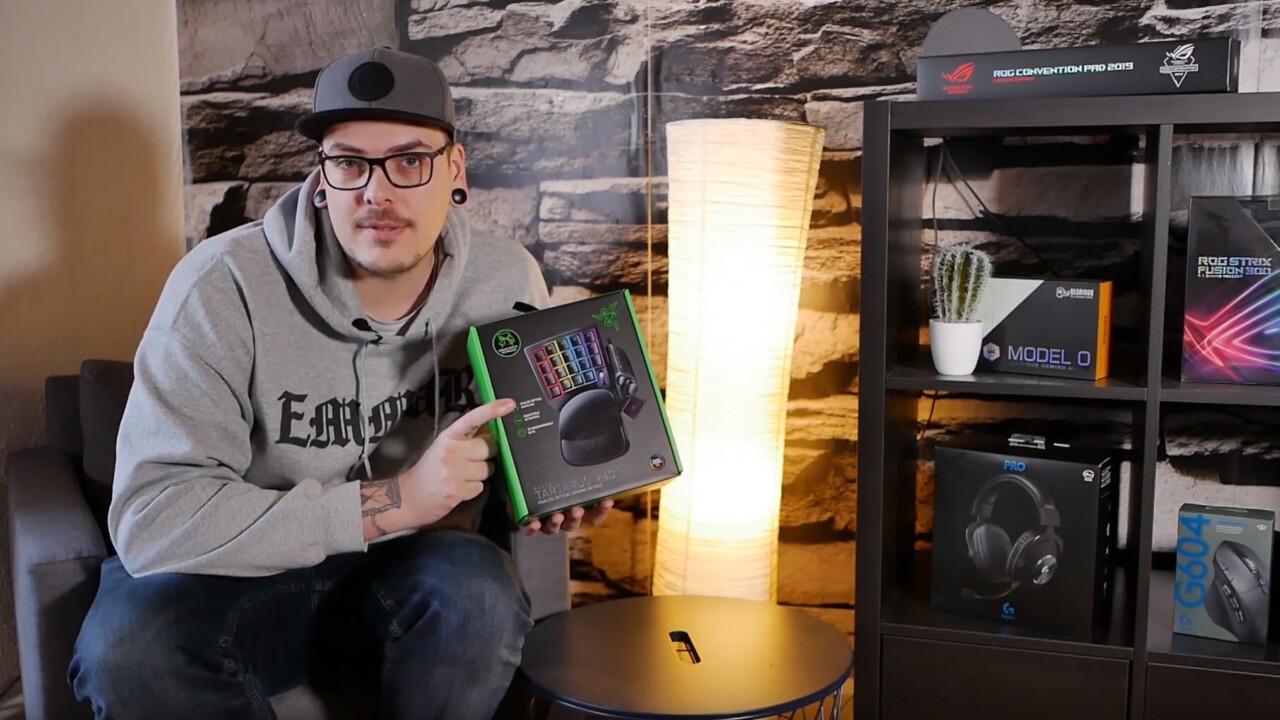 Razer Tartarus Pro: Das Gaming-Keypad mit analogen Switches