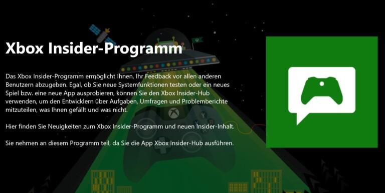 Xbox Insider macht euch zum Tester neuer Funktionen. (Screenshot)