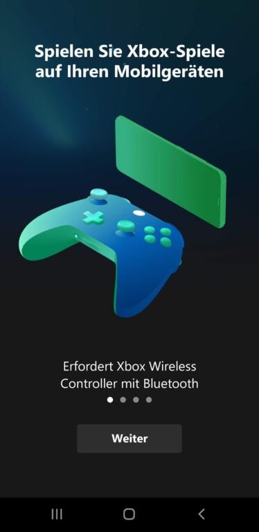 Den Xbox-One-Controller koppelt ihr mit eurem Smartphone. (Foto: Microsoft)