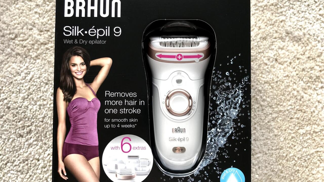 Epilierer Braun Silk-épil 9 ausprobiert