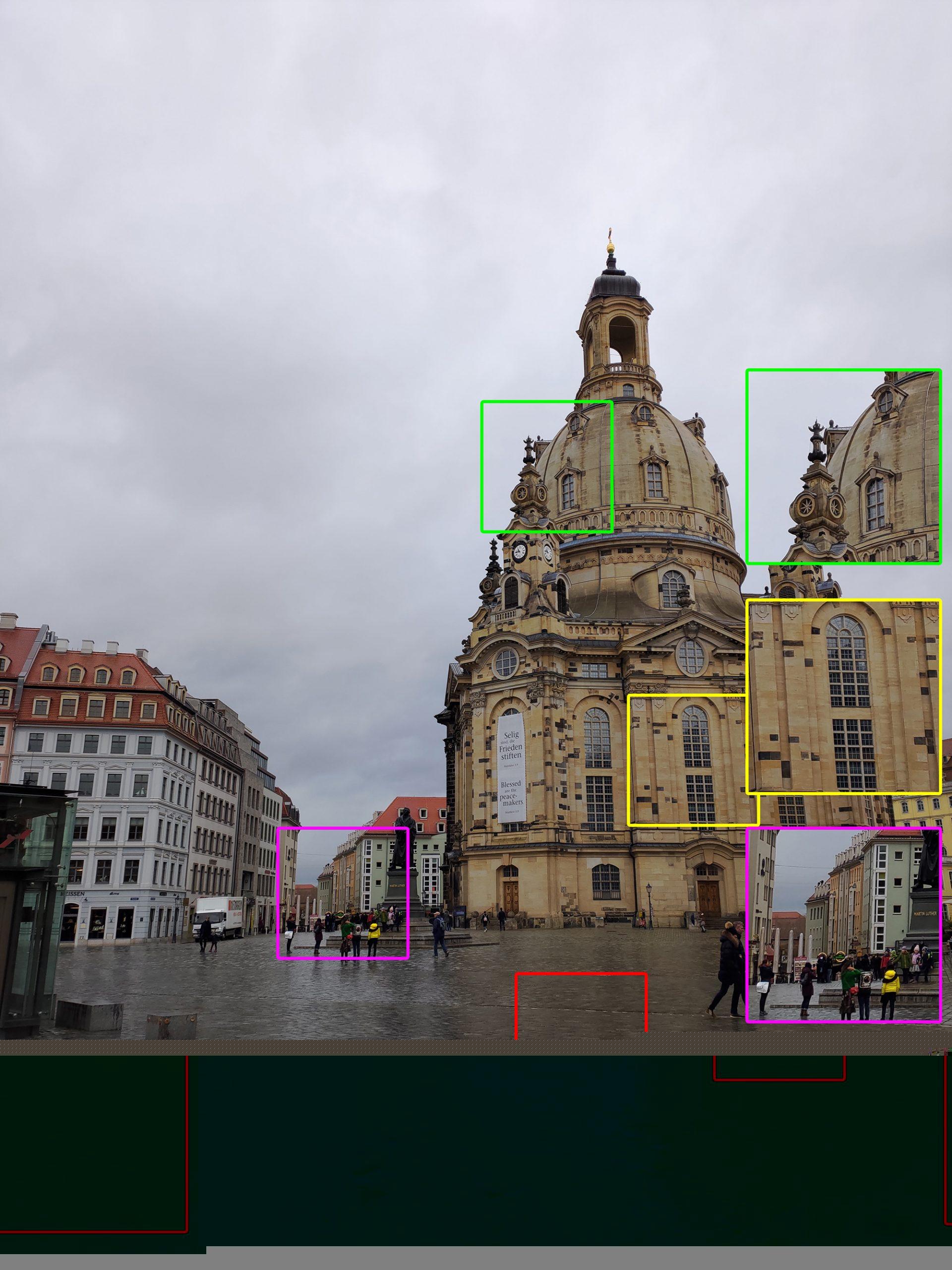 Frauenkirche auf dem ROG Phone II
