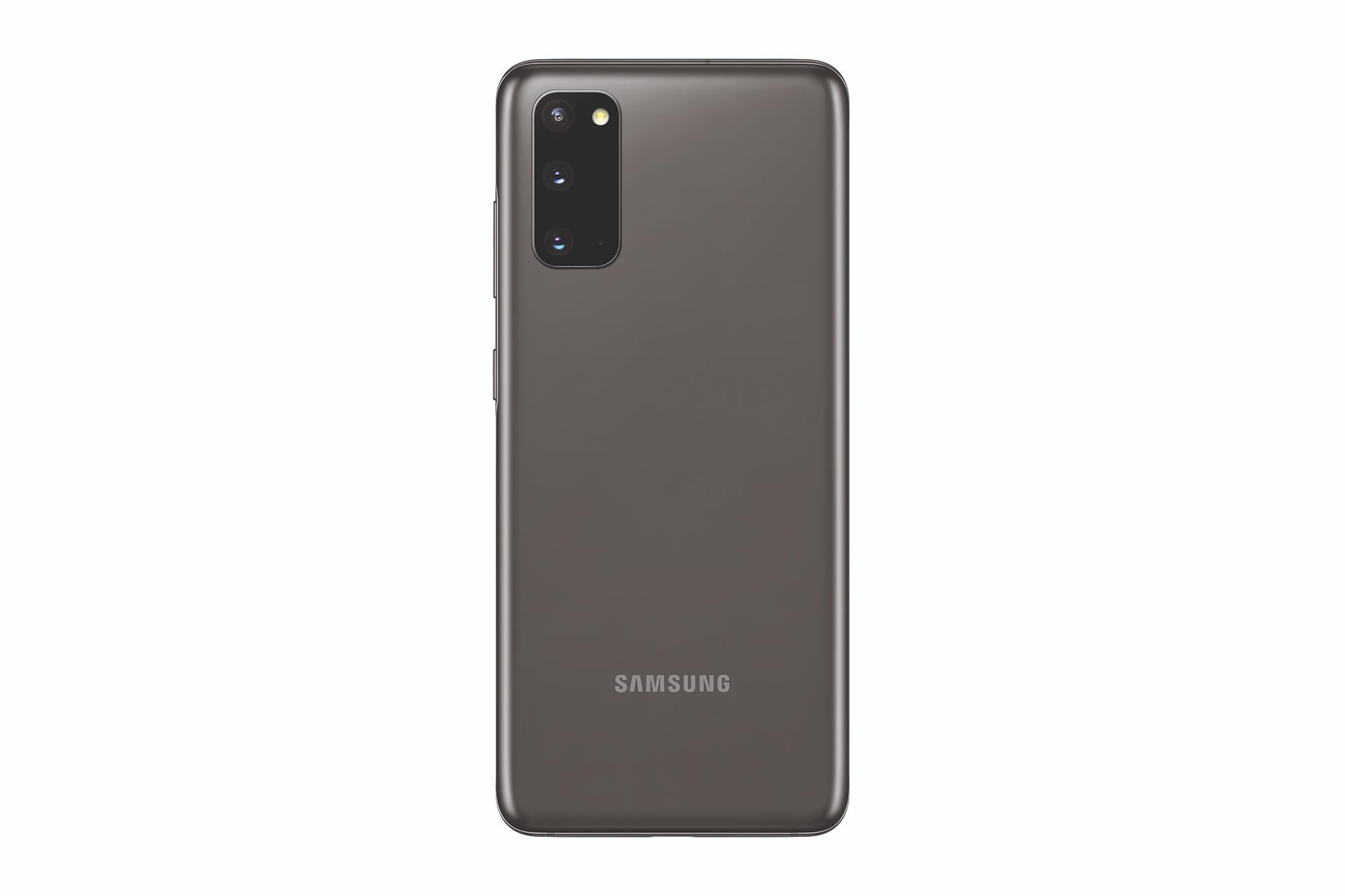 Rückseite des Samsung Galaxy S20